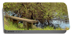 Portable Battery Charger featuring the photograph Communing With Nature by Art Block Collections