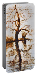Como Lake Reflections Portable Battery Charger