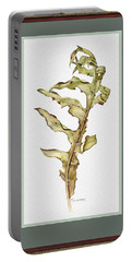 Compass Plant, Fall Portable Battery Charger by Catherine Twomey