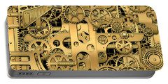 Complexity And Complications - Clockwork Gold Portable Battery Charger