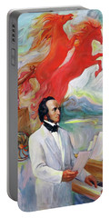 Composer Felix Mendelssohn Portable Battery Charger