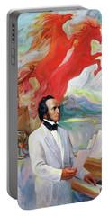 Composer Felix Mendelssohn Portable Battery Charger