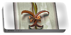 Composite Fleur-de-lis Of Oleander Portable Battery Charger