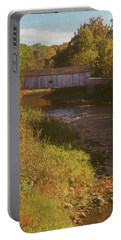 Comstock Covered Bridge Portable Battery Charger