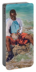 Conch Boy II Portable Battery Charger