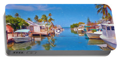 Conch Key Waterfront Living 3 Portable Battery Charger