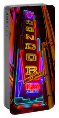 Condor Neon On Broadway Portable Battery Charger
