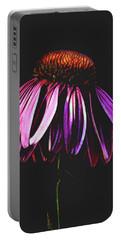 Portable Battery Charger featuring the photograph Cone Flower by Jessica Manelis