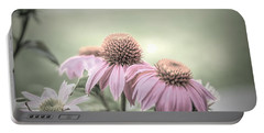 Cone Flowers Dream Portable Battery Charger