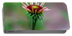 Coneflower Bloom Portable Battery Charger