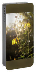 Coneflower In The Sun Portable Battery Charger