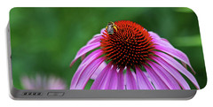 Portable Battery Charger featuring the photograph Coneflower by Judy Vincent