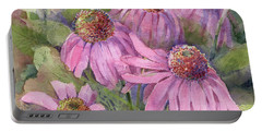 Coneflower Portable Battery Charger