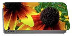 Portable Battery Charger featuring the photograph Coneflowers by Robert Knight