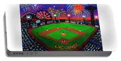 Coney Island Cyclones Fireworks Display Portable Battery Charger
