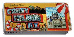 Coney Island Post Card Portable Battery Charger