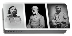 Portable Battery Charger featuring the photograph Confederarte Triptych by Paul W Faust - Impressions of Light