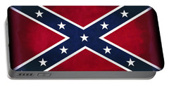 Confederate Rebel Battle Flag Portable Battery Charger