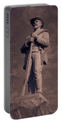 Confederate Statue  Standing Guard Portable Battery Charger