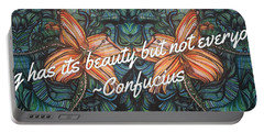 Confucius Beauty  Portable Battery Charger