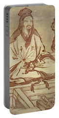 Confucius, Chinese Thinker And Social Philosopher  Portable Battery Charger