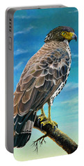 Congo Serpent Eagle Portable Battery Charger by Anthony Mwangi