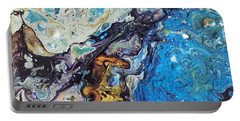 Portable Battery Charger featuring the painting Conjuring by Robbie Masso