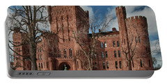 Portable Battery Charger featuring the photograph Connecticut Street Armory 3997a by Guy Whiteley