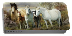 Connemara Ponies Portable Battery Charger