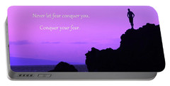 Conquer Your Fear Portable Battery Charger