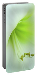 Portable Battery Charger featuring the photograph Consider The Lily by Marie Leslie