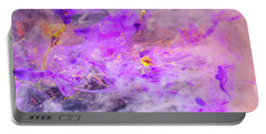 Contemplation - Colorful Abstract Photography Portable Battery Charger