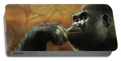 Portable Battery Charger featuring the photograph Contemplation by Lori Deiter