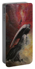 Contemplative Angel Portable Battery Charger