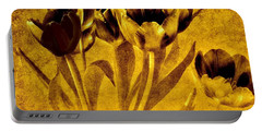 Contemporary Tulips Portable Battery Charger