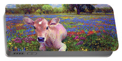 Barnyard Paintings Portable Battery Chargers