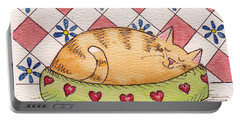 Contented Kitty Portable Battery Charger