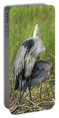 Contortionist Great Blue Heron Portable Battery Charger