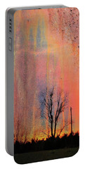 Portable Battery Charger featuring the photograph Contrast With Nature by Jan Amiss Photography