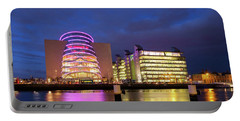 Convention Centre Dublin And Pwc Building In Dublin, Ireland Portable Battery Charger