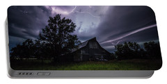 Portable Battery Charger featuring the photograph Convergence  by Aaron J Groen