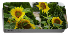 Conversing Sunflowers Portable Battery Charger