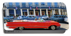 Convertible With Long Tailfins Portable Battery Charger