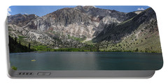 Convict Lake Afternoon Portable Battery Charger by Scott Cunningham