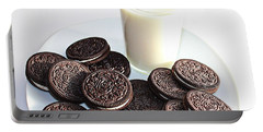 Cookies And Milk Portable Battery Charger