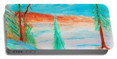 Cool Landscape Portable Battery Charger