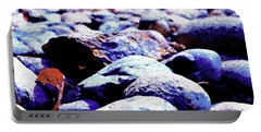 Portable Battery Charger featuring the photograph Cool Rocks- by JD Mims