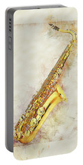 Cool Saxophone Portable Battery Charger