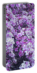 Portable Battery Charger featuring the photograph Cool Sunset Beautiful Blossoms by Aimee L Maher Photography and Art Visit ALMGallerydotcom