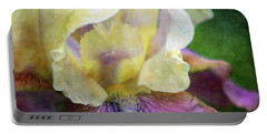 Cool Toned Purple Iris 0319 Idp_3 Portable Battery Charger